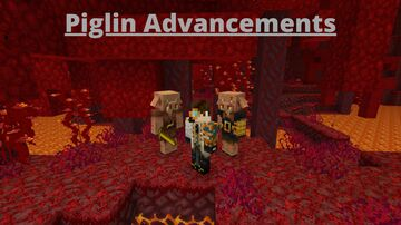 Piglin Advancements Minecraft Data Pack