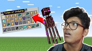 Minecraft....But Enderman Drops Op Loot By Chimbu And Supposedly Sam Minecraft Data Pack