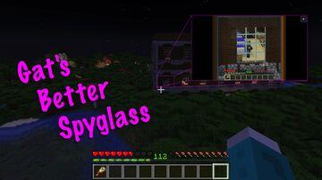 Gat's Better Spyglass Minecraft Data Pack