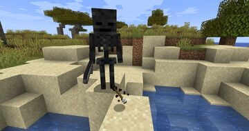 Arrows from Wither Skeletons Minecraft Data Pack