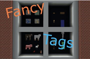 Fancy Tags Minecraft Data Pack