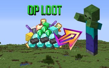 ZOMBIES DROP VERY OP ITEMS!! Minecraft Data Pack
