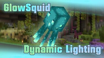 Glow Squid Dynamic Lighting Minecraft Data Pack