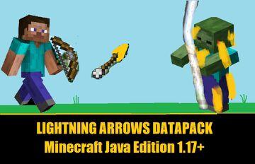 Lightning Arrows Datapack Minecraft Data Pack