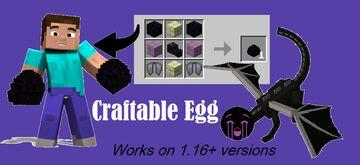 Craftable Dragon Egg!! (1.16+) Minecraft Data Pack