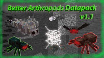 Better Arthropods v1.1 Datapack Minecraft Data Pack