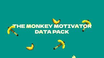THE MONKEY MOTIVATOR PICKAXE DATA PACK Minecraft Data Pack