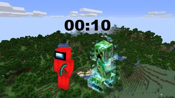 Minecraft, But Charged Creepers Spawn On You Every 10 Seconds Minecraft Data Pack