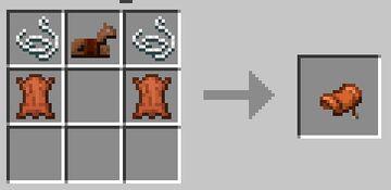 Craftable Horse Stuff Minecraft Data Pack