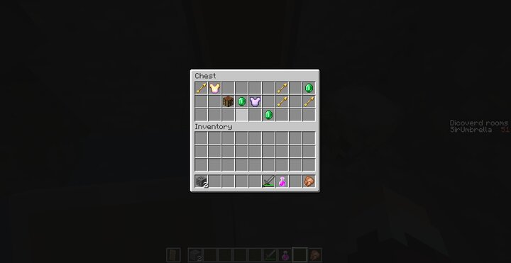 Example of  the loot
