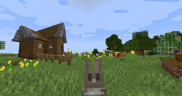Bloomin' Town: New in Town Spring Time Structure Addon! Minecraft Data Pack