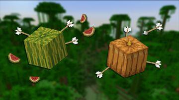 SPLATTER (exploding Melons and Pumpkins) Minecraft Data Pack