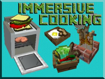 Immersive Cooking - Create Any Meal Imaginable! Minecraft Data Pack