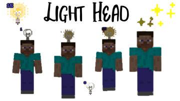 Light Head Minecraft Data Pack