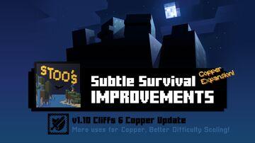 Stoo's Subtle Survival Improvements - v1.10d - Combat, Adventure, Exploration, Quality of Life Minecraft Data Pack