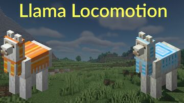 Llama Locomotion | Llama Villager Transport Datapack | v1.0 Minecraft Data Pack