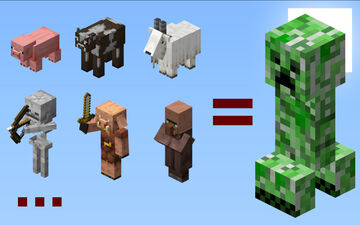 All Mobs Explode Minecraft Data Pack