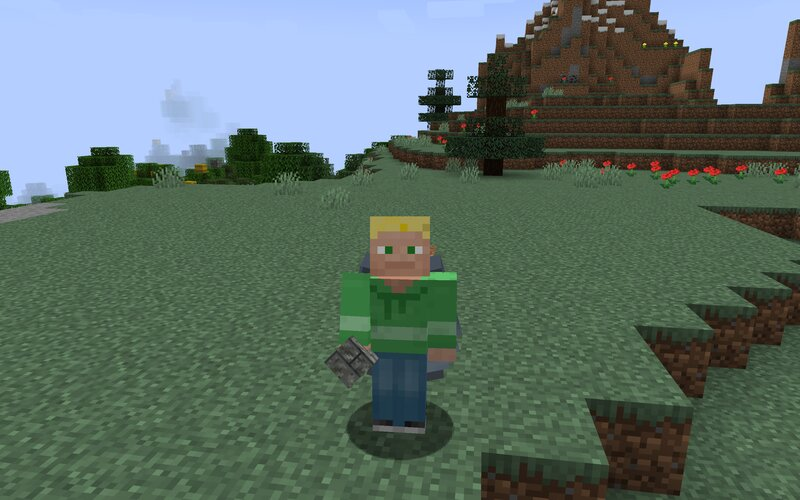 Brick is a little glitched in hand - will try to fix
