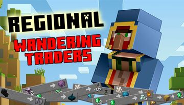Regional Wandering Traders [1.17+] (1.16 available) Minecraft Data Pack
