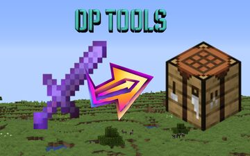 Crafting Any Tool Is OP Minecraft Data Pack