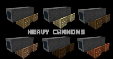 More Cannons (NEW UPDATE) Minecraft Data Pack