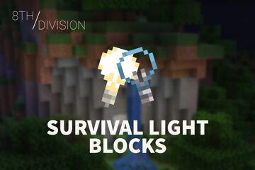 Survival Light Blocks Minecraft Data Pack
