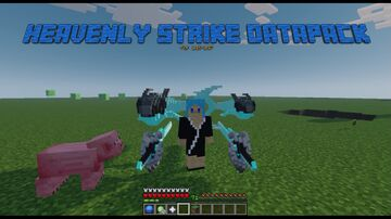 Heavenly Strike Weapon Datapack for 1.17 Minecraft Data Pack