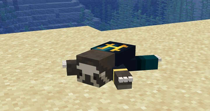 "Sloth with Hypixel Jersey name your sloth ""Hypixel"" to see this fun feature!"