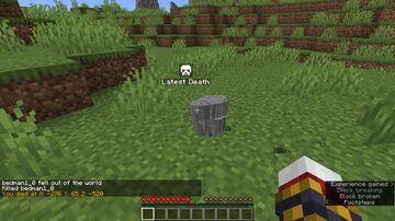 Improved Death Minecraft Data Pack