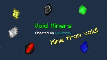 Void Miners 1.16.2 - 1.16.5 Minecraft Data Pack