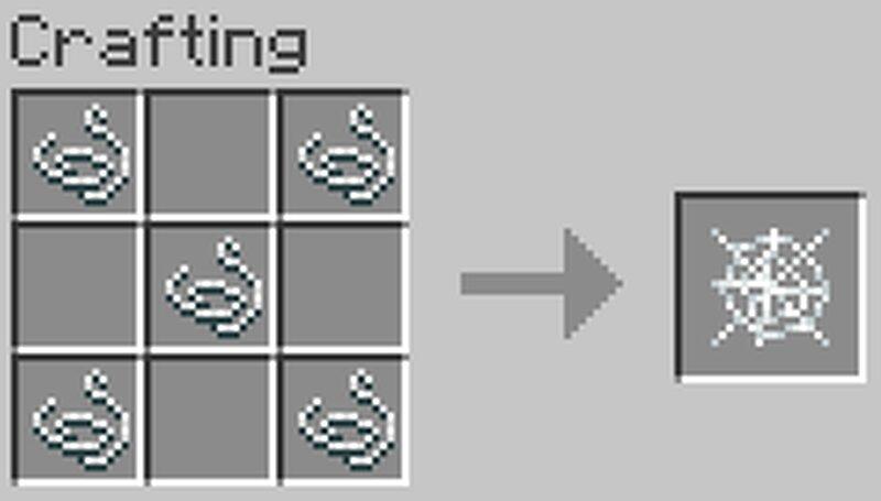 как сделать алмащную нить в майнкрафте #2