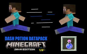 Dash Potion Datapack Minecraft 1.17+ Minecraft Data Pack
