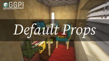 Default Props - GGPI prop pack Minecraft Data Pack