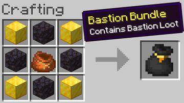 Custom Bundles! Minecraft Data Pack