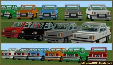 cars in minecraft (only works in bedrock edition) Minecraft Data Pack