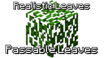Passable Leaves _v2.0_ 1.16.x Minecraft Data Pack