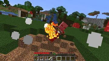 Minecraft but everything you hit explode Minecraft Data Pack