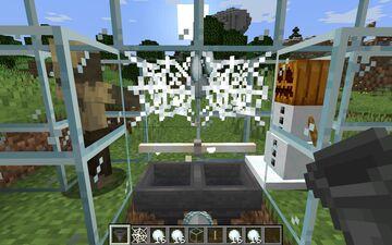Catch Snowballs With Cobwebs - SnowBallFarm Minecraft Data Pack
