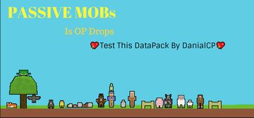 Minecraft But Passive Mobs Is OP Minecraft Data Pack