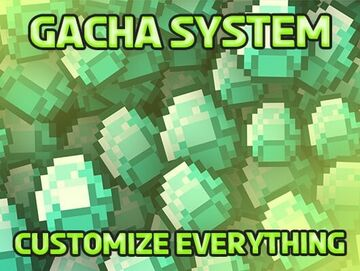 GachaSystem   Easy and Fully Customizable Minecraft Data Pack