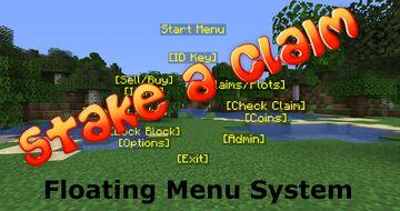 Stake A Claim (Version 2) - Floating Menus! Minecraft Data Pack