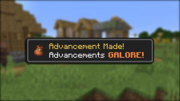 Advancements GALORE! Minecraft Data Pack