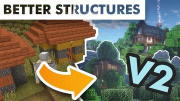 Bitpack CustomStructures v2 (conservative) Minecraft Data Pack
