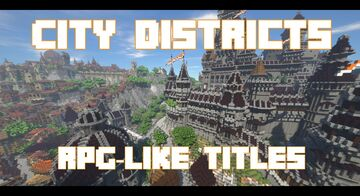 City Districts - RPG-Like Titles Minecraft Data Pack