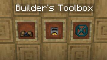 Builder's Toolbox [BETA] Minecraft Data Pack