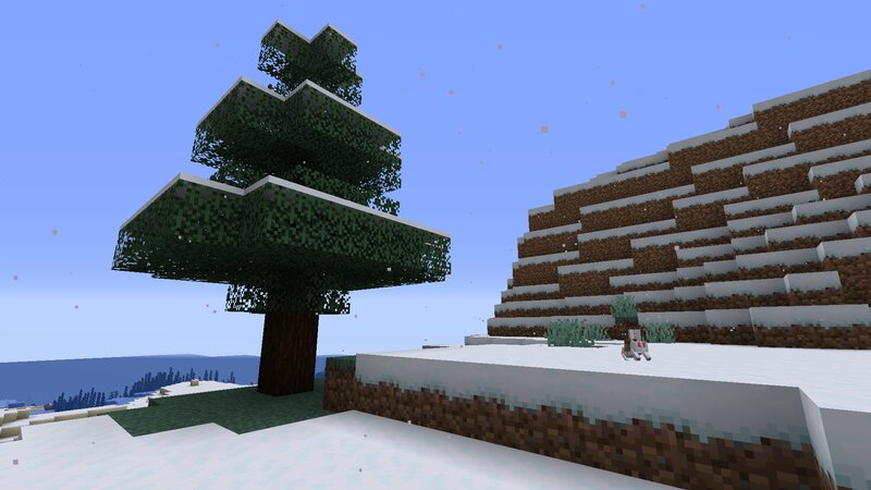 """White ash spawner making """"snow"""" in the snowy mountains"""