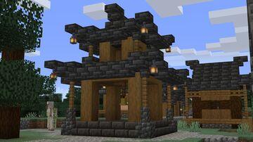 Japanese Villages Minecraft Data Pack