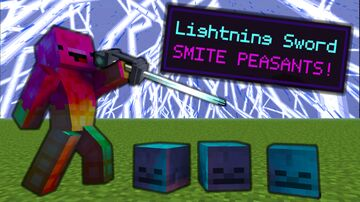 Quest for the Sabre of the Lightning Master [6 New Items!] Minecraft Data Pack