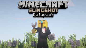 Slingshots Datapack | Texturepack NOT included | 1.17+ Minecraft Data Pack