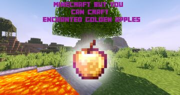 Minecraft But You Can Craft Enchanted Golden Apples Minecraft Data Pack
